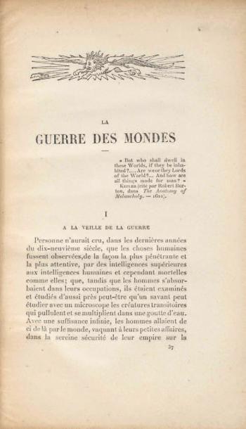 La Guerre des Mondes/L'Île du docteur Moreau...