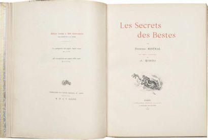 Les Secrets des Bestes par Frédéric Mistral....
