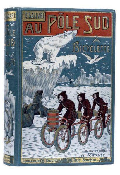 Au Pôle Sud à Bicyclette par Emilio Salgari....