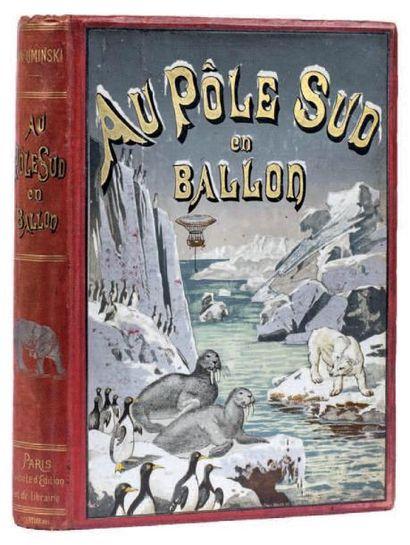 Au Pôle Sud en ballon par W. Uminski (traduit...