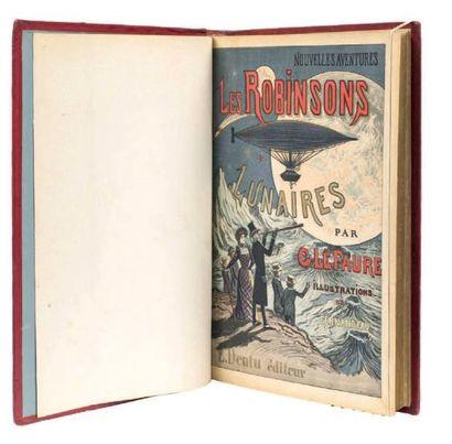 Les Robinsons lunaires par Georges Le Faure....