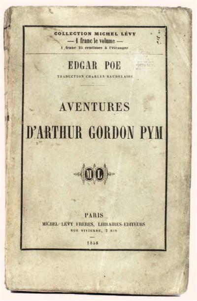Aventures d'Arthur Gordon Pym par Edgar Poe....