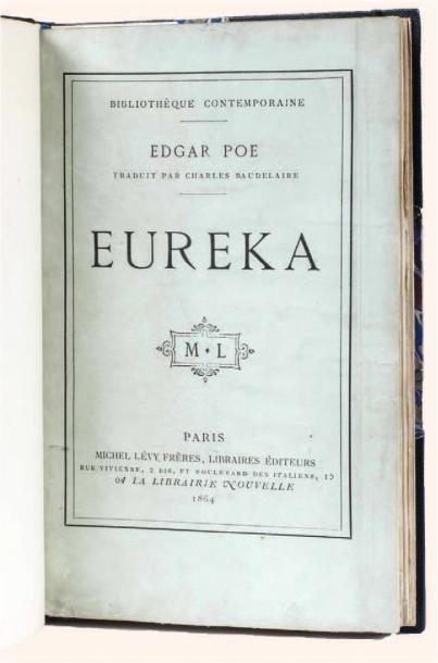 Euréka par Edgar Poe. Traduction de Charles...