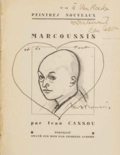 LOUIS MARCOUSSIS - Jean Cassou, Marcoussis,...
