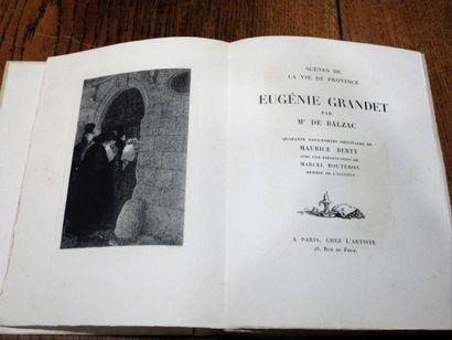 BALZAC (Honoré de). Eugénie Grandet. Présentation...