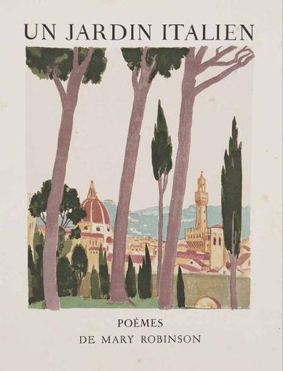 [DENIS (Maurice)] - ROBINSON (Mary). Un jardin...