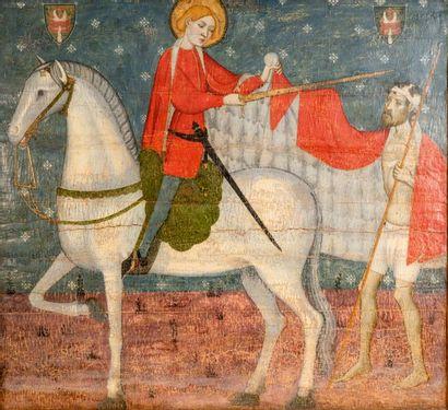Attribué à JAIME SERRA<br/>Documenté à Barcelone de (1358 à 1389)