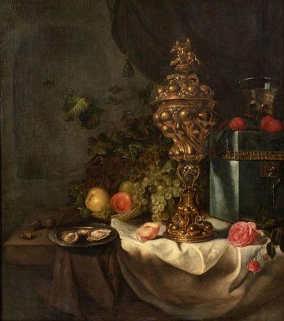 Attribué à Simon LUTTICKUYS (Londres 1610 - Amsterdam 1661)