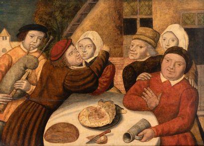 Ecole Flamande du XVIIème siècle, suiveur de Martin Van Cleve (Anvers, 1527-1581)