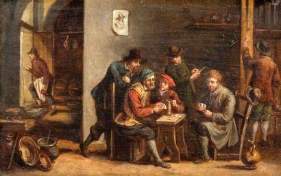 Attribué à Thomas VAN APSHOVEN (Anvers 1622-1665)