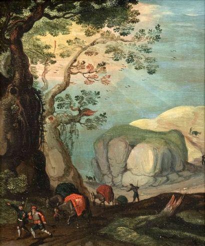 Attribué à Thobias VERHACHT (Anvers 1561-1631)