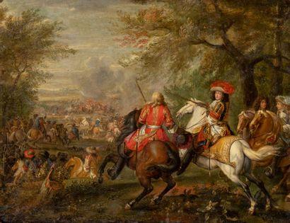 Adam Franz VAN DER MEULEN (Bruxelles, 1632- Paris, 1690)
