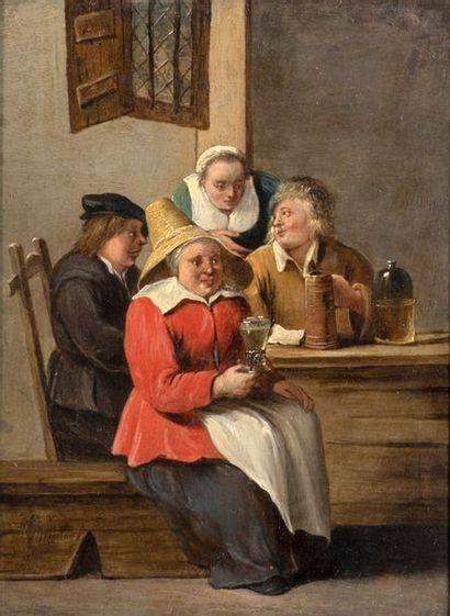 Mattheus VAN HELMONT (Anvers 1623-1679)