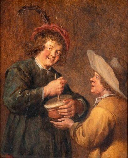 Attribué à Gonzales COQUES (Anvers 1618-1684)