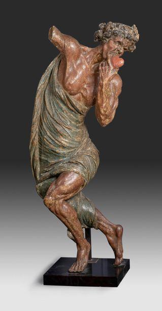 Exceptionnelle statue représentant l'allégorie...