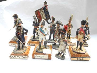 10 figurines Debercy, Lebovitz, Tonde, G.B.V....