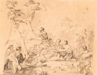 Dans le goût de l'école française du XVIIIe siècle