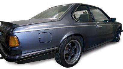 BMW SERIE 6 - 635 CSI Pack M- 1984 - Marque: BMW - Modèle: 635 CSI M «bleu baltique»....