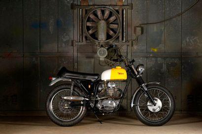 BSA Victor Special 441 1969 Si l'industrie britannique est réputée pour ses « vertical...