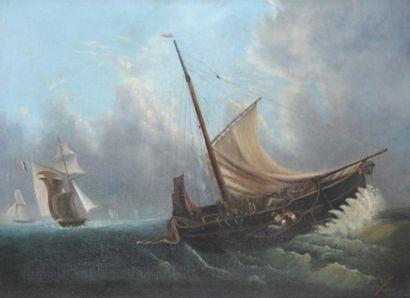 ÉCOLE FRANCAISE, XIXe SIÈCLE