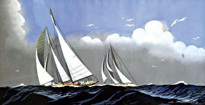 HAFFNER LÉON (1881-1972)