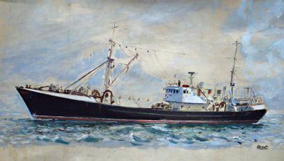 BRENET ALBERT (1903-2005)