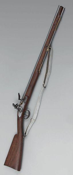 Carabine de Versailles à silex modèle d'infanterie...