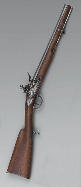 Carabine de Versailles à silex modèle de...