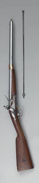 Mousqueton à silex de cavalerie modèle 1822,...