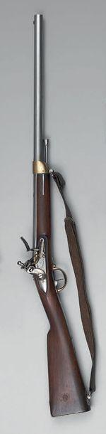 Mousqueton à silex d'artillerie modèle 1829,...
