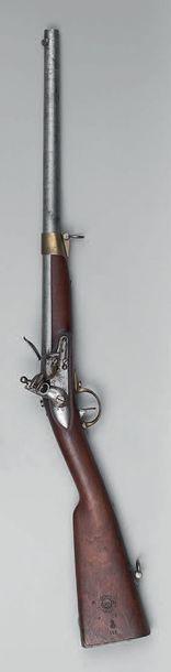 Mousqueton à silex de lancier modèle 1836,...