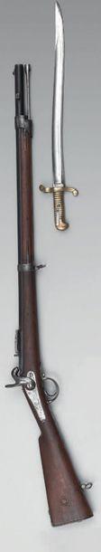 """Carabine à percussion modèle 1840, dite """"carabine..."""