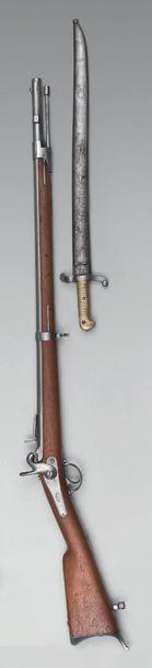 """Carabine à percussion modèle 1842, dite """"carabine..."""