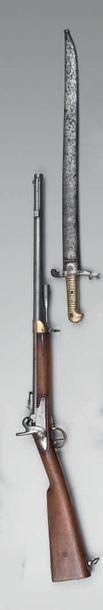 Mousqueton à percussion d'artillerie modèle...