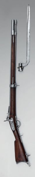 Fusil de rempart à percussion modèle 1838,...