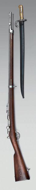 Fusil d'infanterie Chassepot système 1866,...