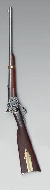 Carabine Sharps modèle 1852 à percussion,...