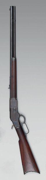 Fusil Winchester modèle 1873, canon octogonal...