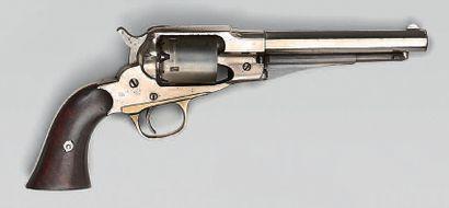 Revolver Remington à percussion, canon octogonal...