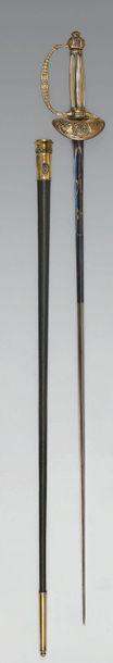Belle épée de dignitaire modèle de Boutet...