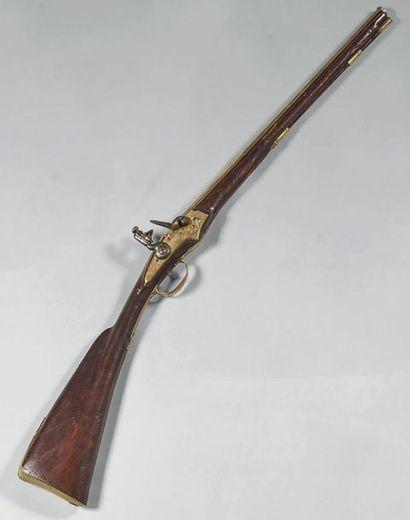 Belle petite carabine de chasse à silex,...