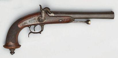 Pistolet à percussion d'officier de cavalerie...