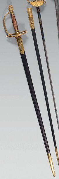 Épée d'officier supérieur d'état-major modèle...