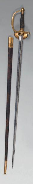 Épée d'officier modèle 1816 de récompense...