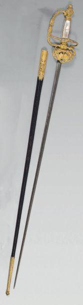 Épée de haut fonctionnaire ou de diplomate,...