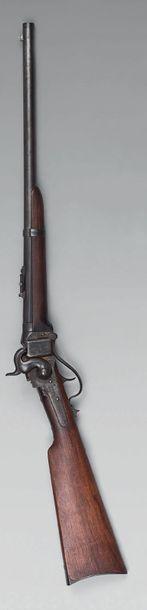 Carabine Sharps New Model 1865 à percussion,...