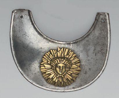 Hausse-col du régiment des gardes suisses...