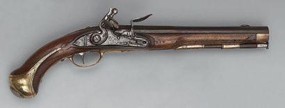 Pistolet à silex de gendarme de la Maison...