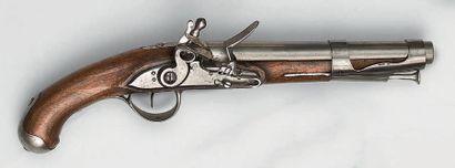 Pistolet à silex de cavalerie modèle 1763/1766,...