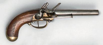 Pistolet à silex de cavalerie modèle 1777...
